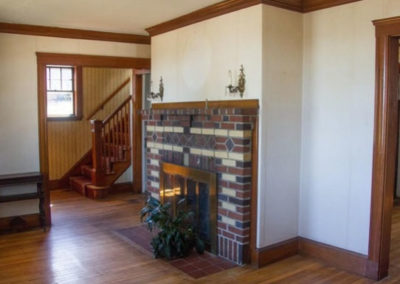 Renovations Gallery - Living Room Fireplace Before - Melrose, Massachusetts
