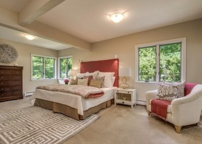 Home Staging Gallery - Master Bedroom - Rockport, Massachusetts