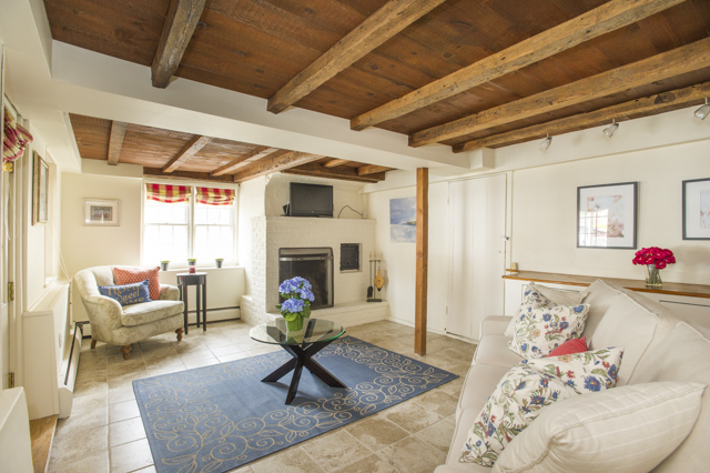 Home Staging Gallery - Basement Family Room - Marblehead, Massachusetts