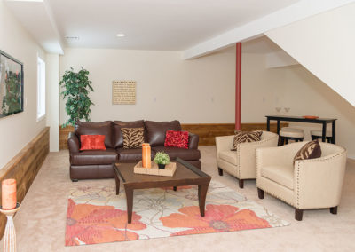 Seabrook, NH, Basement Family Room